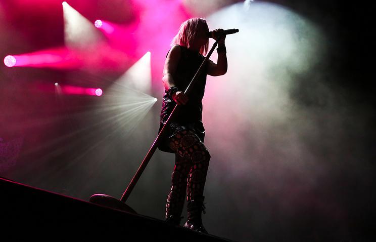 Вокалистка рок-группы Garbage Ширли Мэнсон